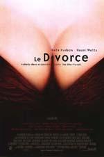 Poster Le divorce  n. 3