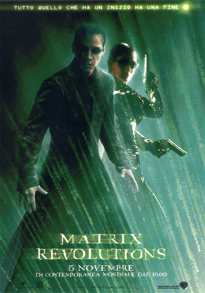 Trailer Matrix revolutions