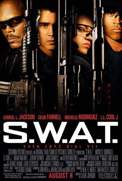 Poster S.W.A.T. Squadra speciale anticrimine