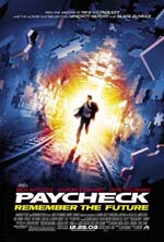 Poster Paycheck  n. 1