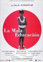 Poster La mala educación  n. 2