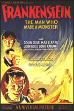 Poster Frankenstein  n. 1