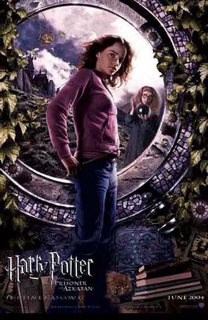 Poster Harry Potter e il prigioniero di Azkaban