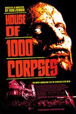 Locandina La casa dei 1000 corpi