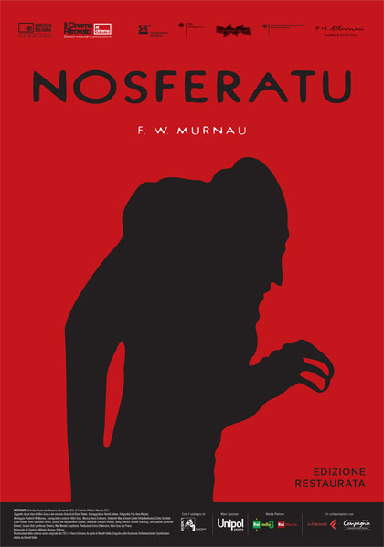 Locandina italiana Nosferatu il vampiro