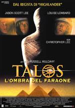 Locandina Talos - L'ombra del faraone