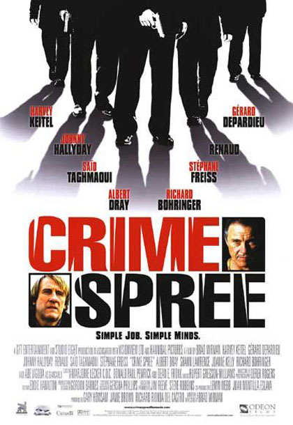 Poster Crime Spree - In fuga da Chicago