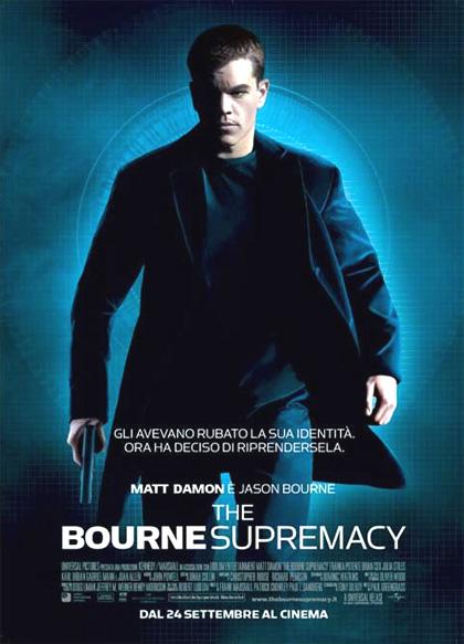 Locandina italiana The Bourne Supremacy