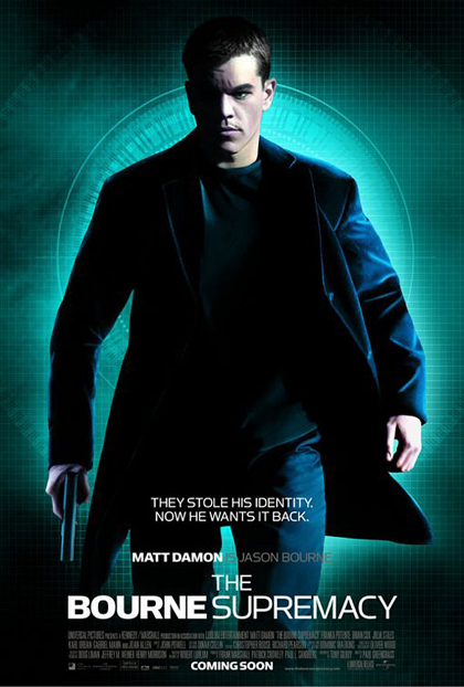 Poster The Bourne Supremacy
