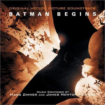 Cover della colonna sonora del film Batman Begins