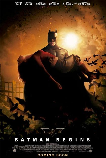Locandina italiana Batman Begins