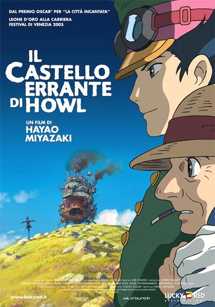 Locandina italiana Il castello errante di Howl
