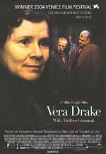Poster Il segreto di Vera Drake  n. 3
