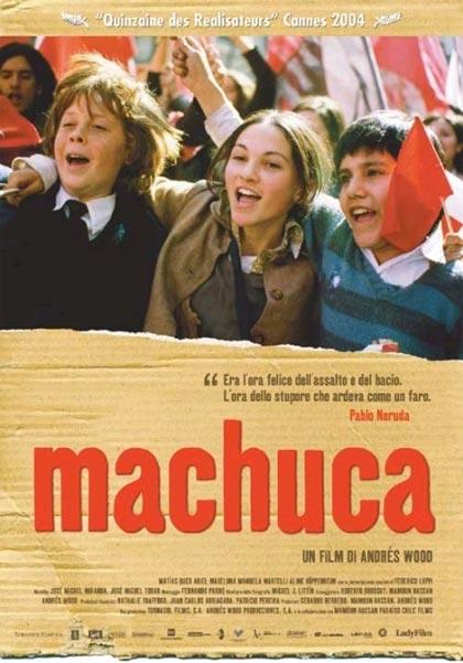 Locandina italiana Machuca