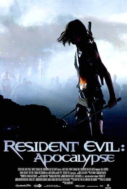 Locandina italiana Resident Evil: Apocalypse