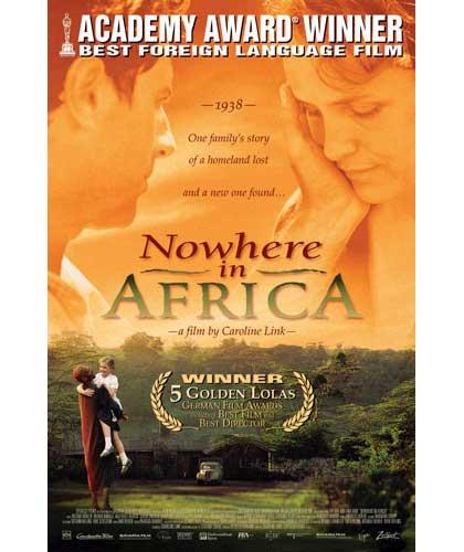 Locandina italiana Nowhere in Africa