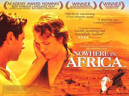 Poster Nowhere in Africa