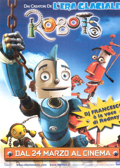 Locandina italiana Robots