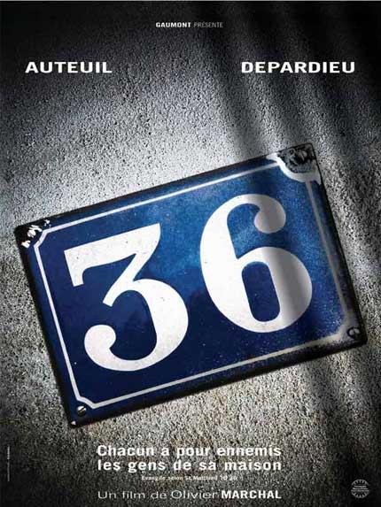 Trailer 36 Quai des Orfèvres