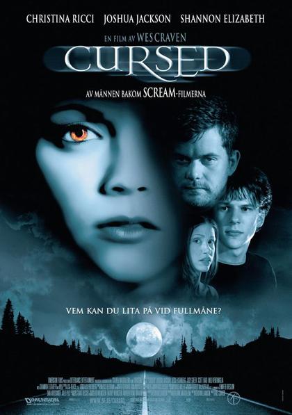 Poster Cursed - Il maleficio