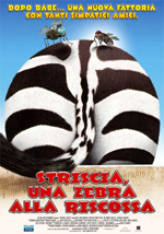 Trailer Striscia, una zebra alla riscossa