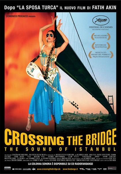 Locandina italiana Crossing the bridge - The sound of Istanbul