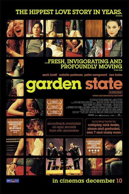 Poster La mia vita a Garden State