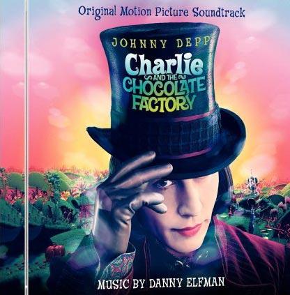 Cover CD Colonna sonora La fabbrica di cioccolato
