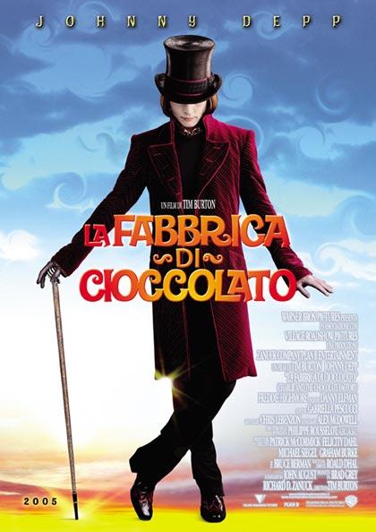 Locandina italiana La fabbrica di cioccolato