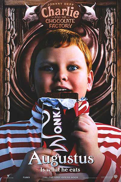 Poster La fabbrica di cioccolato