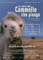 Locandina La storia del cammello che piange