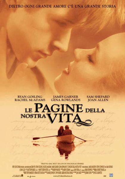 Locandina italiana Le pagine della nostra vita