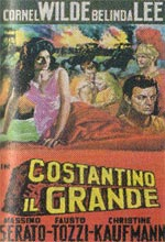 Locandina Costantino il grande (In hoc signo vinces)