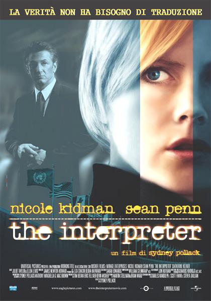 Locandina italiana The Interpreter