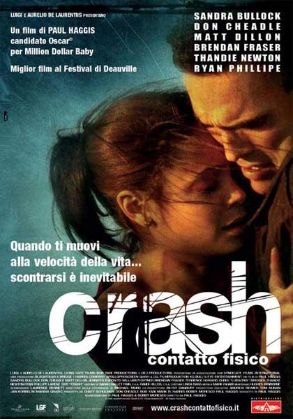 Locandina italiana Crash - Contatto fisico