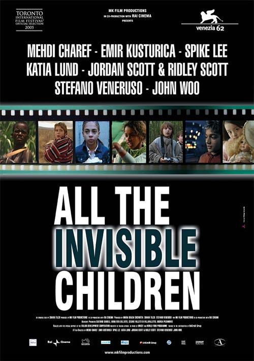 Locandina italiana All the Invisible Children