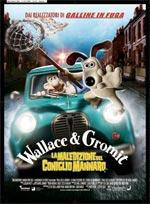 Locandina Wallace & Gromit - La maledizione del coniglio mannaro