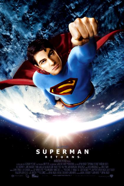 Locandina italiana Superman Returns