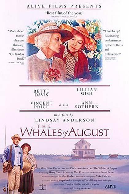 Poster Le balene d'agosto