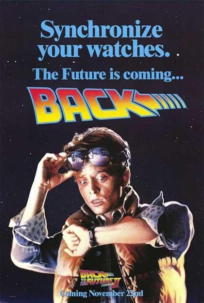 Poster Ritorno al futuro parte II