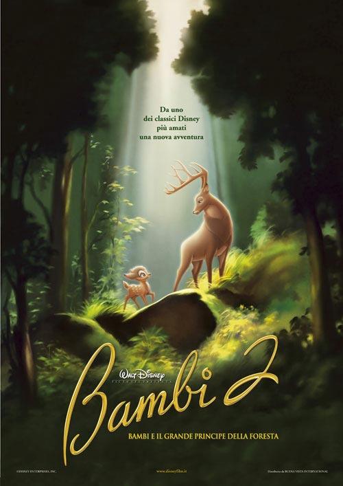 Locandina italiana Bambi 2 - Bambi e il grande principe della foresta