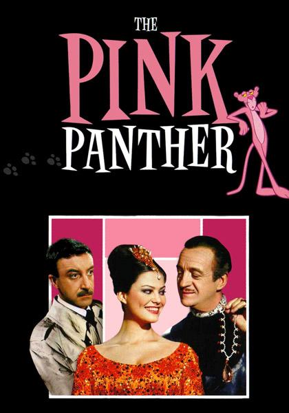 Locandina italiana La pantera rosa
