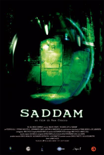 Locandina italiana Saddam