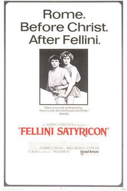 Poster Fellini - Satyricon