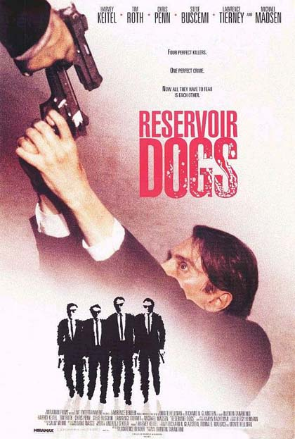 Poster Le iene - Cani da rapina