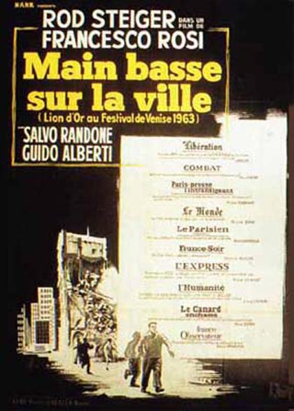 Poster Le mani sulla città