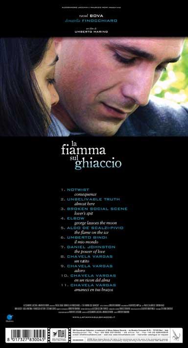 Cover CD Colonna sonora La fiamma sul ghiaccio