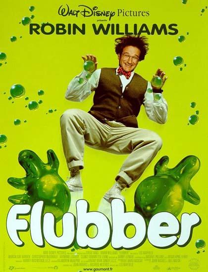 Poster Flubber - Un professore tra le nuvole