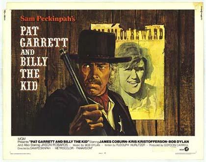 Poster Pat Garrett e Billy the Kid
