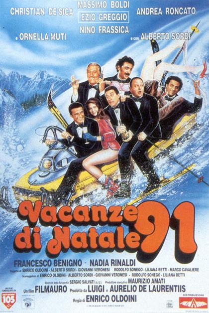 Locandina italiana Vacanze di Natale '91
